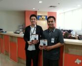 With Whindy Yoevestian (Managing director of Elex Media Publishing)