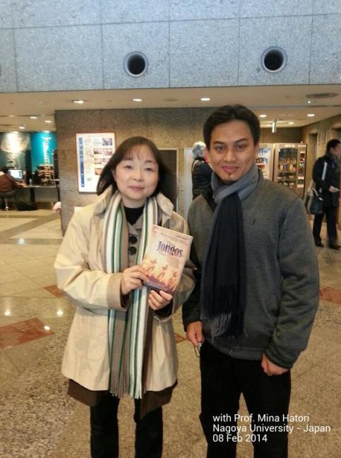 With Prof. Mina Hatori at Nagoya University