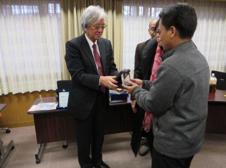 Bersama Prof. Miyake at Nagoya University - Japan