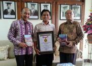 With Prof. Syahrani & DR. Bagus A. P @UNAIR Surabaya