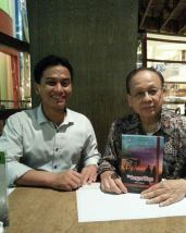 With Prof. J.B. Sumarlin