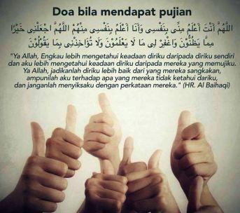 Doa mndpt pujian