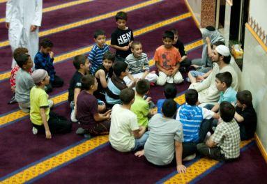 kumpul di masjid
